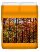 Fall In Ontario Canada Duvet Cover