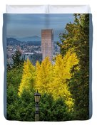 Fall In Portland Or 2 Duvet Cover