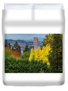 Fall In Portland Or Duvet Cover