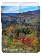 Fall In Tennessee Duvet Cover