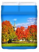 Fall In The Country Duvet Cover