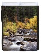 Fall In The Grand Tetons Duvet Cover