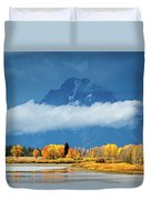 Fall At The Oxbow Duvet Cover