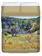 Fall In The Texas Hill Country Duvet Cover