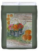 Fall In Vermont Duvet Cover