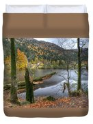 Fall In Vosges National Park Duvet Cover
