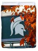 Fall Is Football Duvet Cover