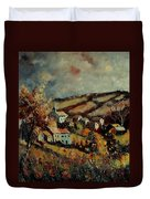 Fall Landscape 670110 Duvet Cover