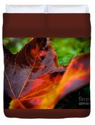 Fall Leaf Duvet Cover