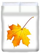 Fall Maple Leaf Duvet Cover