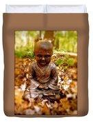 Fall Meditation Duvet Cover
