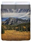 Fall Mountain Duvet Cover