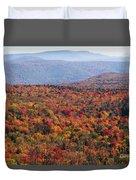 Fall Mountains #3 Duvet Cover