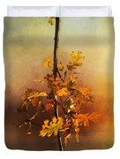 Fall Oak Leaves Duvet Cover