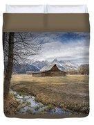 Fall On Mormon Row - Grand Teton National Park Duvet Cover