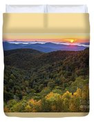 Fall On The Blue Ridge Parkway. Duvet Cover by Itai Minovitz