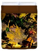 Fall On The Ground Duvet Cover