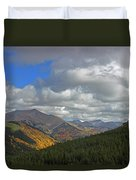 Fall On The Pass Duvet Cover