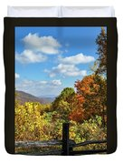 Fall Overlook Duvet Cover