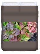 Fall Palette Duvet Cover