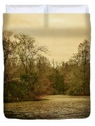 Fall Pond Duvet Cover