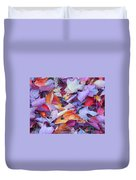 Fall Purples  Duvet Cover