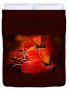 Fall Red 6675 Duvet Cover