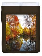 Fall Reflected Duvet Cover