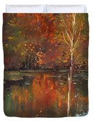 Fall Reflection Duvet Cover