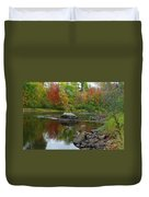 Fall River Reflection Duvet Cover