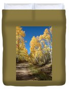 Fall Road Duvet Cover