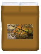 Fall Scene Duvet Cover