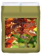Fall Spiderweb Duvet Cover