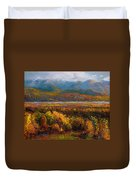 Fall Duvet Cover by Talya Johnson