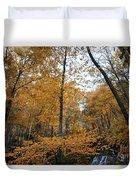 Fall Tees At  Yankee Horse Overlook   Duvet Cover