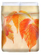 Fall Together Duvet Cover