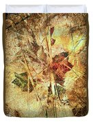 Fall Treasures Duvet Cover