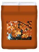 Fall Tree Art Prints Orange Autumn Leaves Baslee Troutman Duvet Cover