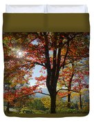 Fall Tree Colors I Duvet Cover