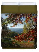 Fall Tree Colors II Duvet Cover