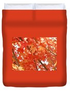 Fall Trees Colorful Autumn Leaves Art Baslee Troutman Duvet Cover