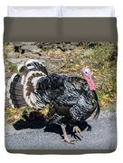 Fall Turkey Duvet Cover