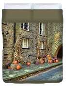Fall Walkway  Duvet Cover