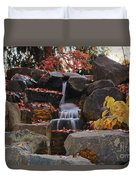 Fall Waterfall Duvet Cover