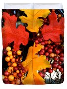 Fall Wreath Duvet Cover