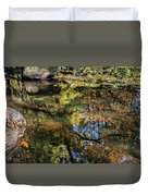 Fall Into Seasons Duvet Cover
