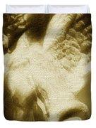 Fallen Angel Vertical Gold Duvet Cover