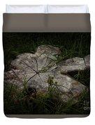 Fallen But Not Forgotten Duvet Cover