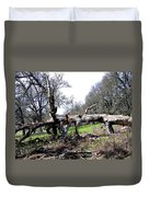 Fallen Mighty Oak Duvet Cover
