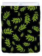 Falling Ash Leaves  Duvet Cover